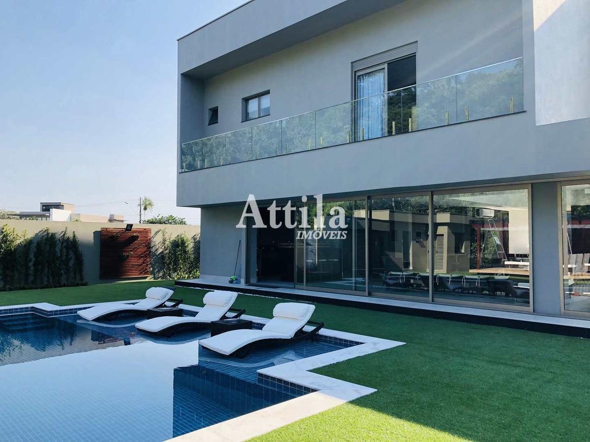casa alto padrão, 5 suítes, riviera de são lourenço - v1126