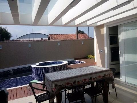 casa alto padrão assobradada no jardim britânia em caraguatatuba, litoral norte/sp - ca00436 - 4888009