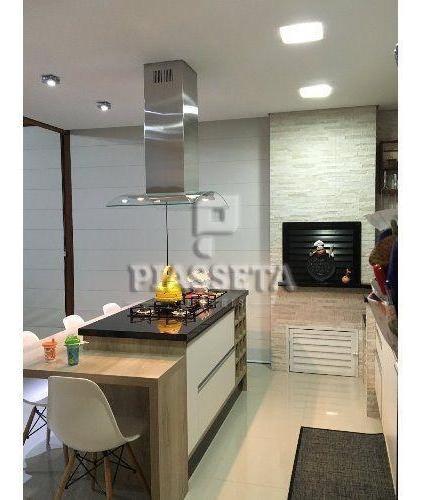 casa alto padrão mobiliada 2 dormitórios com piscina e mezanino no aririu - ca0027