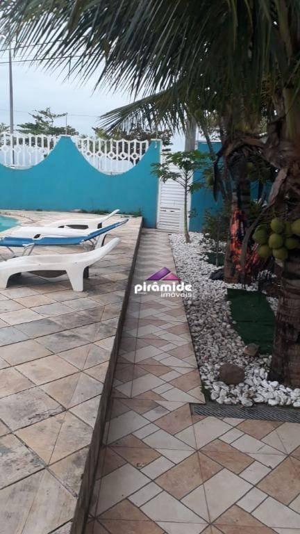 casa alto padrão na praia das palmeiras, caraguatatuba. - ca3877