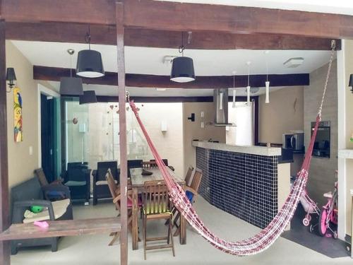 casa alto padrão, suítes, piscina, área gourmet, garagem 6 carros.caonze/n.iguaçu - ca00528 - 33138124