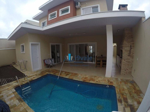 casa  alto padrão à venda, loteamento villa branca, jacareí. - ca0501