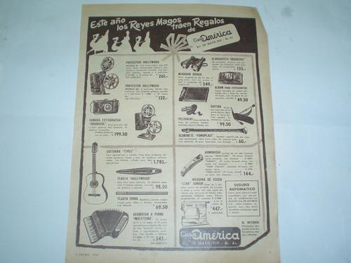 casa america elna fonoplast gradosol tonal publicidad 1961