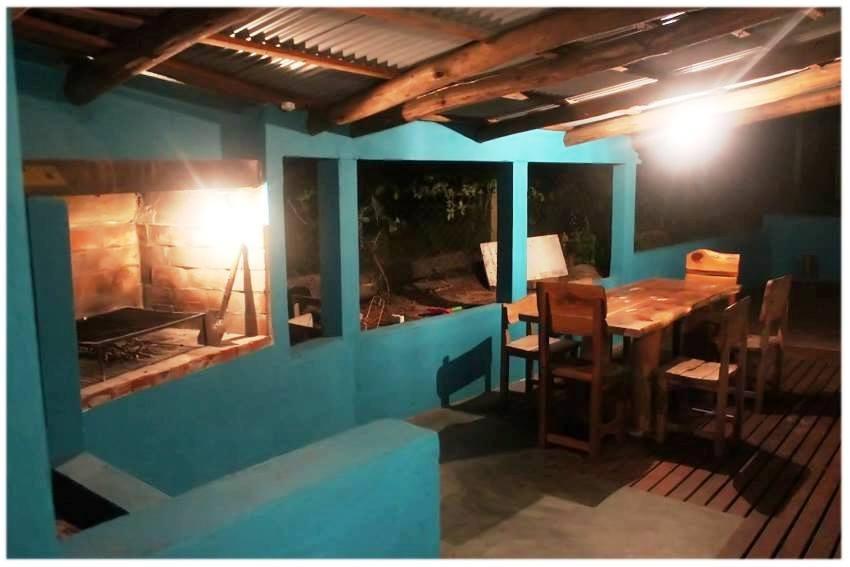 casa amplia mar azul