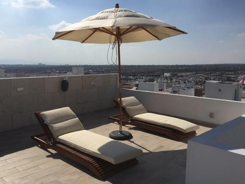 casa amueblada de 3 hab + roof garden en el refugio
