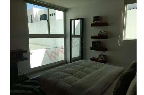 casa amueblada en renta, el refugio, querétaro. $ 19,000.00