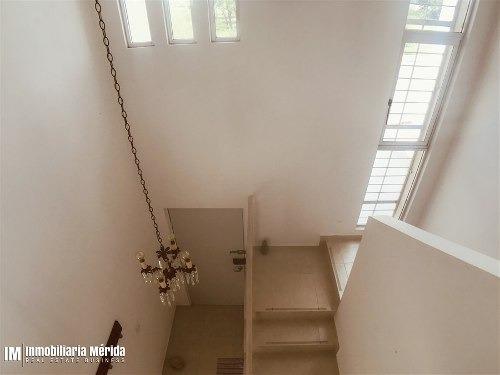 casa amueblada en renta en gran san pedro cholul