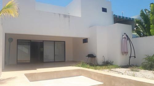 casa amueblada en renta privada