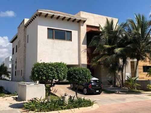 casa amueblada en renta puerto cancun 2mil usd por día