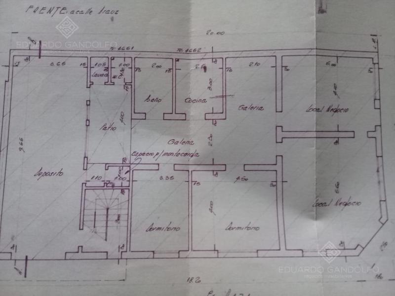 casa antigua apto profesional - comercial!