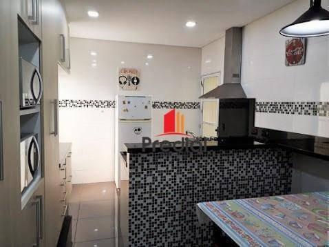 casa assobradada com salão comercial, 330 m² à venda com 3 dormitórios, edícula e piscina - avenida atlântica, vila valparaíso, santo andré/sp - ca0146