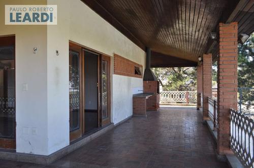 casa assobradada morada dos pinheiros (aldeia da serra) - santana de parnaíba - ref: 471939