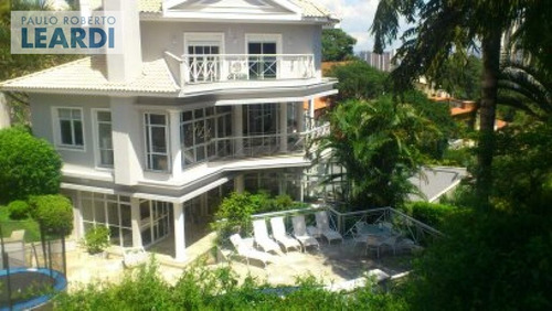 casa assobradada panamby  - são paulo - ref: 421624
