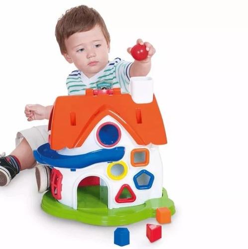 casa atividades pedagogica play time cotiplas pronta entrega
