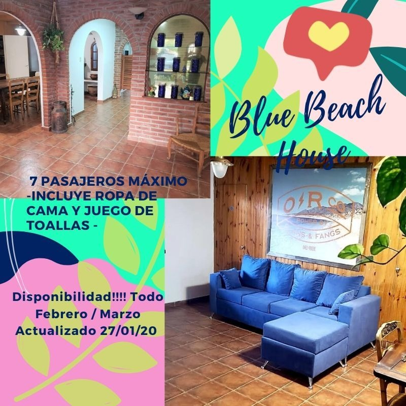casa azul beach house mdq