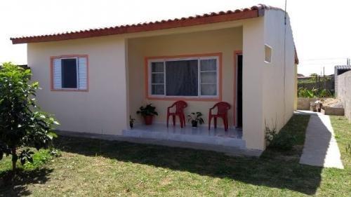 casa barata com lote amplo, lado praia em itanhaém.