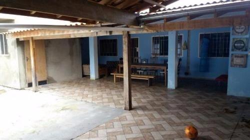 casa barata lado praia com 3 quartos e lote inteiro!