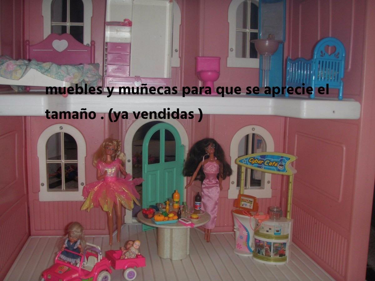Casa Barbi Little Tike Impecable Nica A La Venta En Arg  # Muebles Little Tikes
