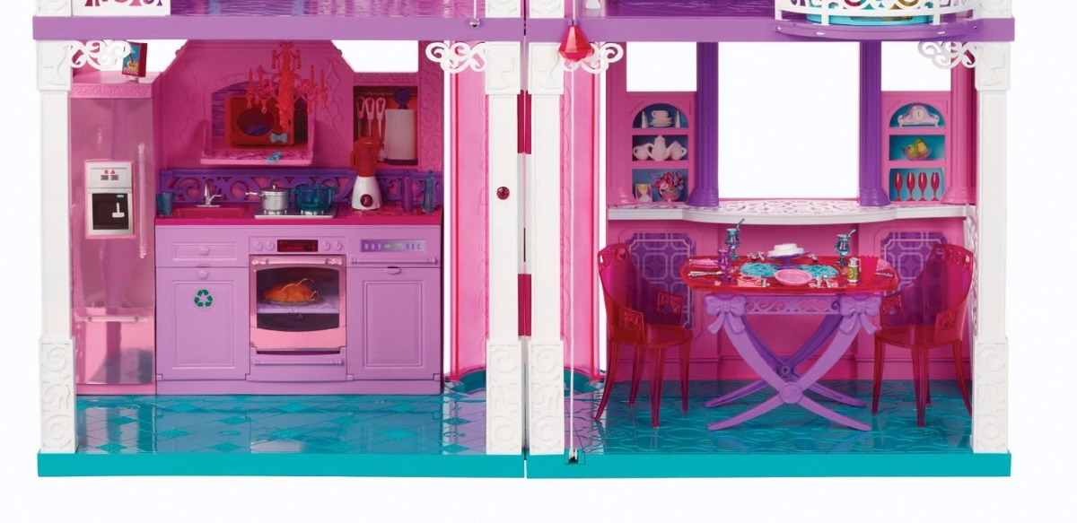 Casa barbie dreamhouse 27 en mercado libre for Dream house days furniture