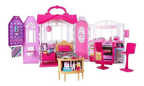 casa barbie glam getaway house casa portatil juguete niñas
