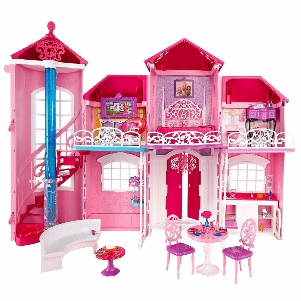 Casa barbie malibu house casa mu ecas dreamhouse juguetes en mercado libre - Letto barbie prezzo ...