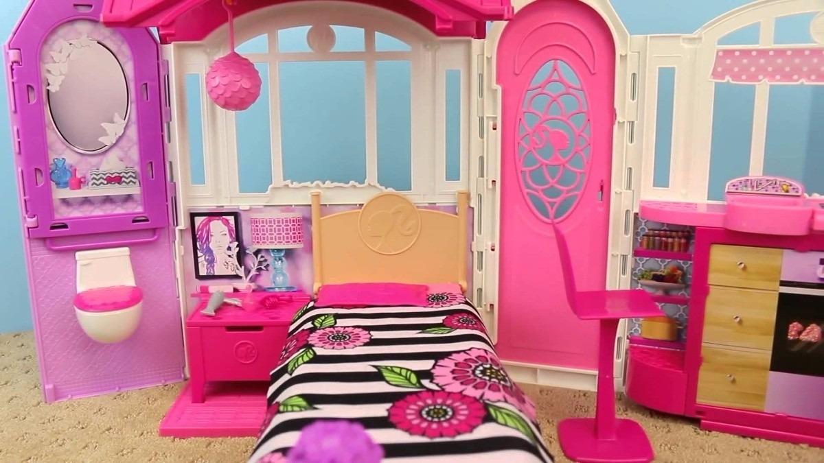 Casa barbie real casa de f rias com luz e som mattel - Supercasa de barbie ...