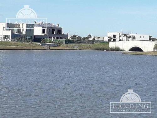 casa - barrio cerrado ceibos - puertos del lago -  a la laguna. entrega 06/2018