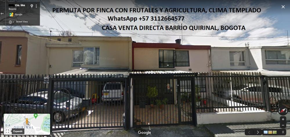 casa barrio quirinal bogota 2 pisos garajes