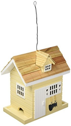 casa bazar maceta cobertizo comedero para pájaros color a