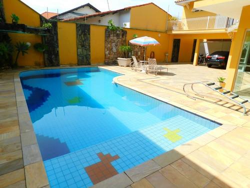 casa c/ piscina alto padrão bairro nobre de peruíbe a venda