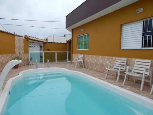 casa c/ piscina bairro são joão batista a venda em peruíbe