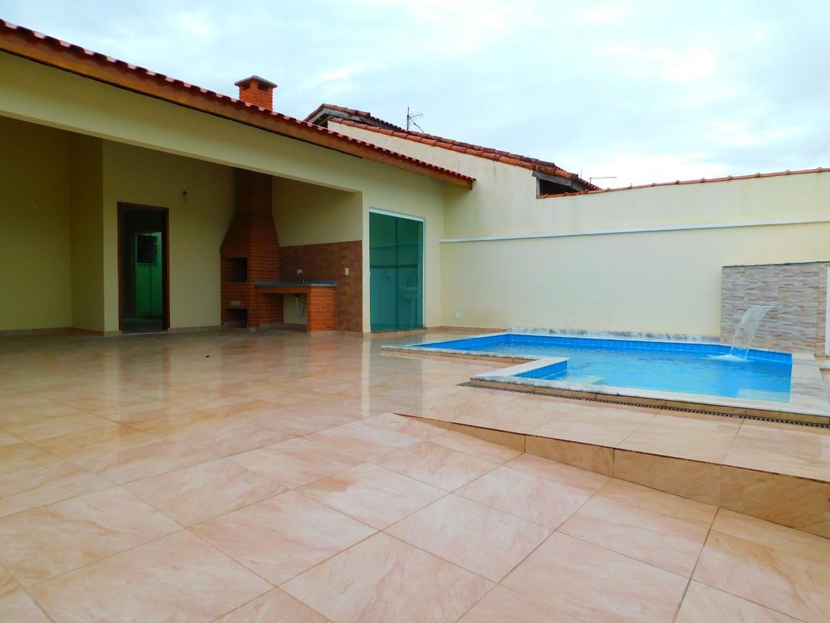 casa c/ piscina bairro são josé a venda na praia de peruíbe