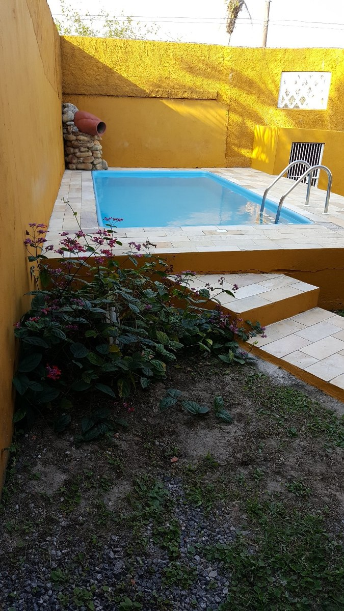 casa c/ piscina, churrasqueira - itanhaém