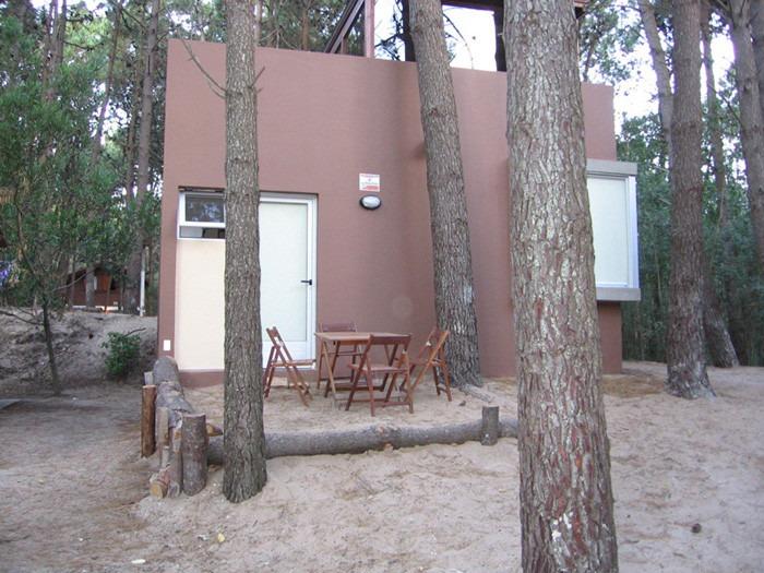 casa cabaña 2 ambientes bosque mar azul alquiler temporareo