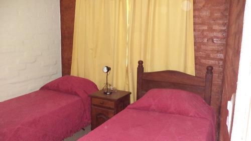 casa , cabaña con pileta natacion (potrero de los funes)