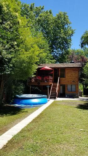 casa / cabaña delta tigre sobre rio  carapachay