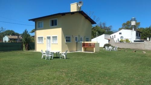 casa cabaña en mar del plata. dos duplex para 5 personas.