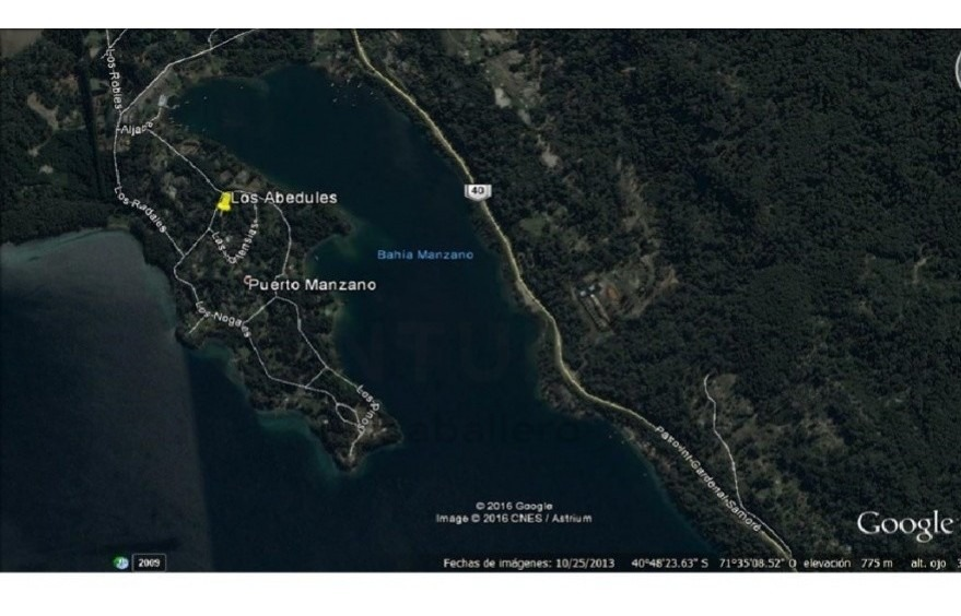 casa cabaña en puerto manzano vista parcial al lago a estrenar uf02