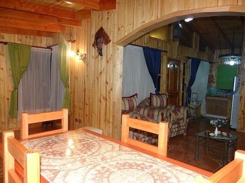 casa cabaña equipada isla negra