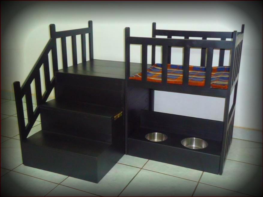 Casa cama para perros dos pisos mediana de lujo vbf for Casa y cama