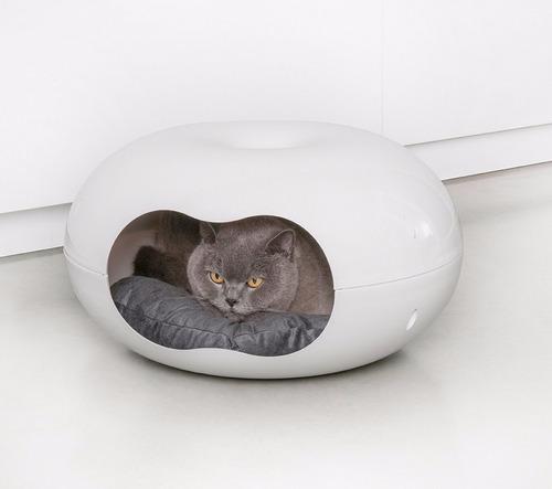 casa cama perro gato hurón conejo moderna modelo doonut lujo