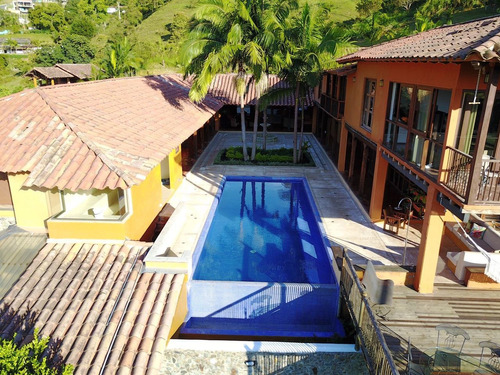 casa campestre de 6 cuartos, piscina, jacuzzi y turco