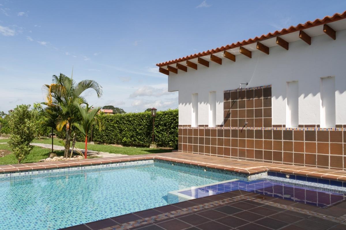 casa campestre finquita recreo piscina laguna jacuzzi