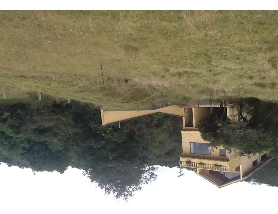 casa campestre laguna del sisga