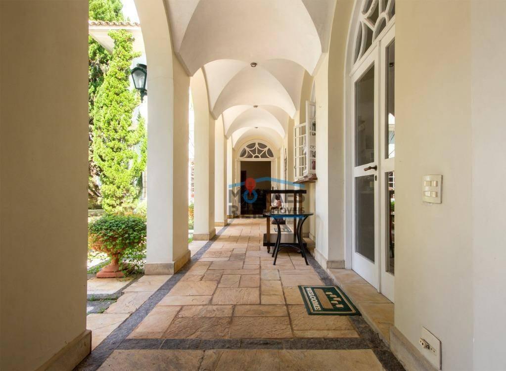 casa casa localizada numa das melhores ruas do bairro à venda, 865 m² por r$ 4.900.000 - jardim guedala - são paulo/sp - ca0846