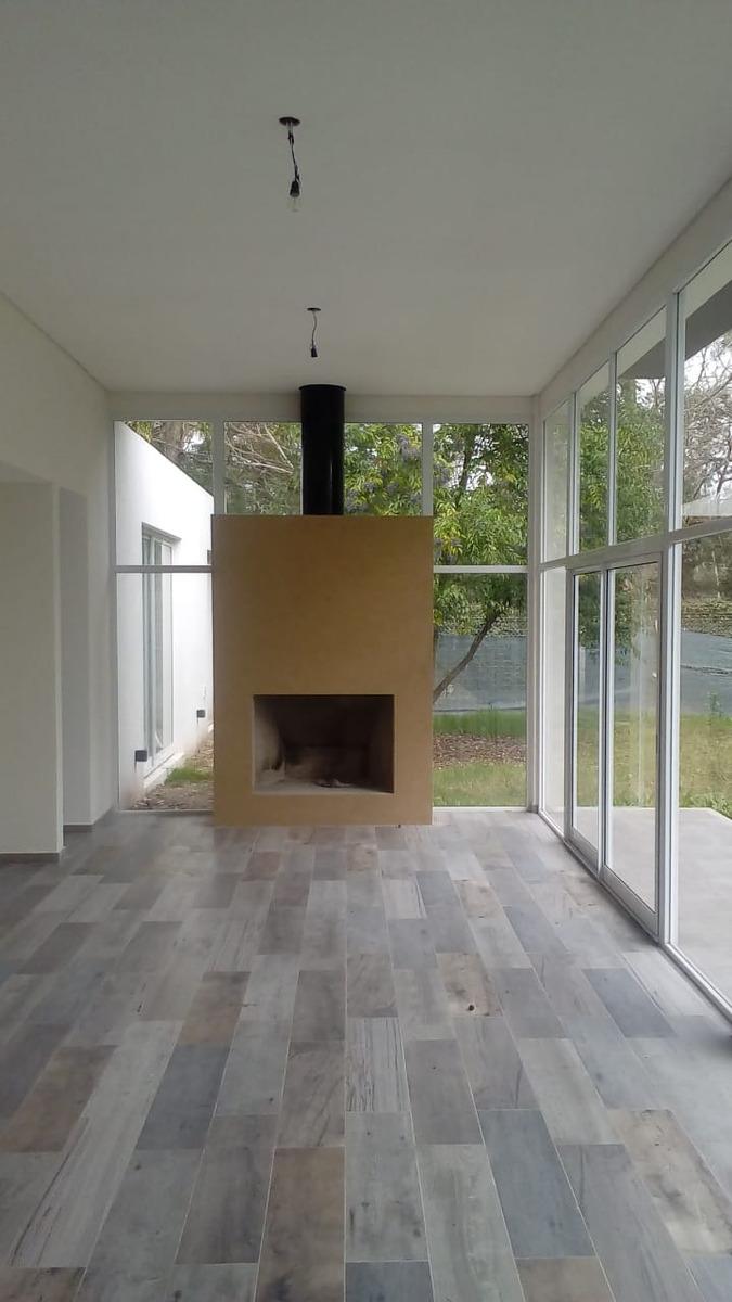 casa-casa moderna en country terreno
