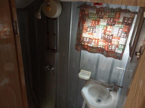 casa casilla rodante aluminio 3/4 personas muy linda.liquido