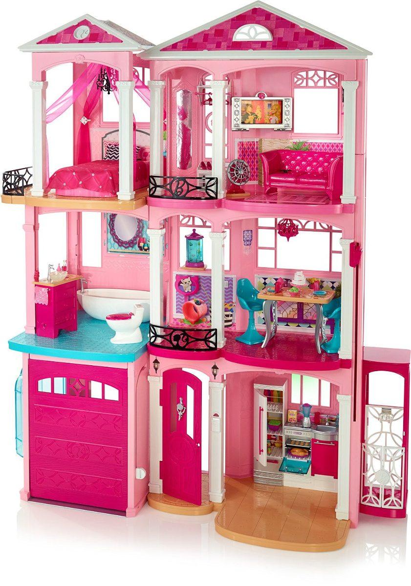 Casa casinha de bonecas da barbie dream house r em mercado livre - La casa de barbie de juguete ...