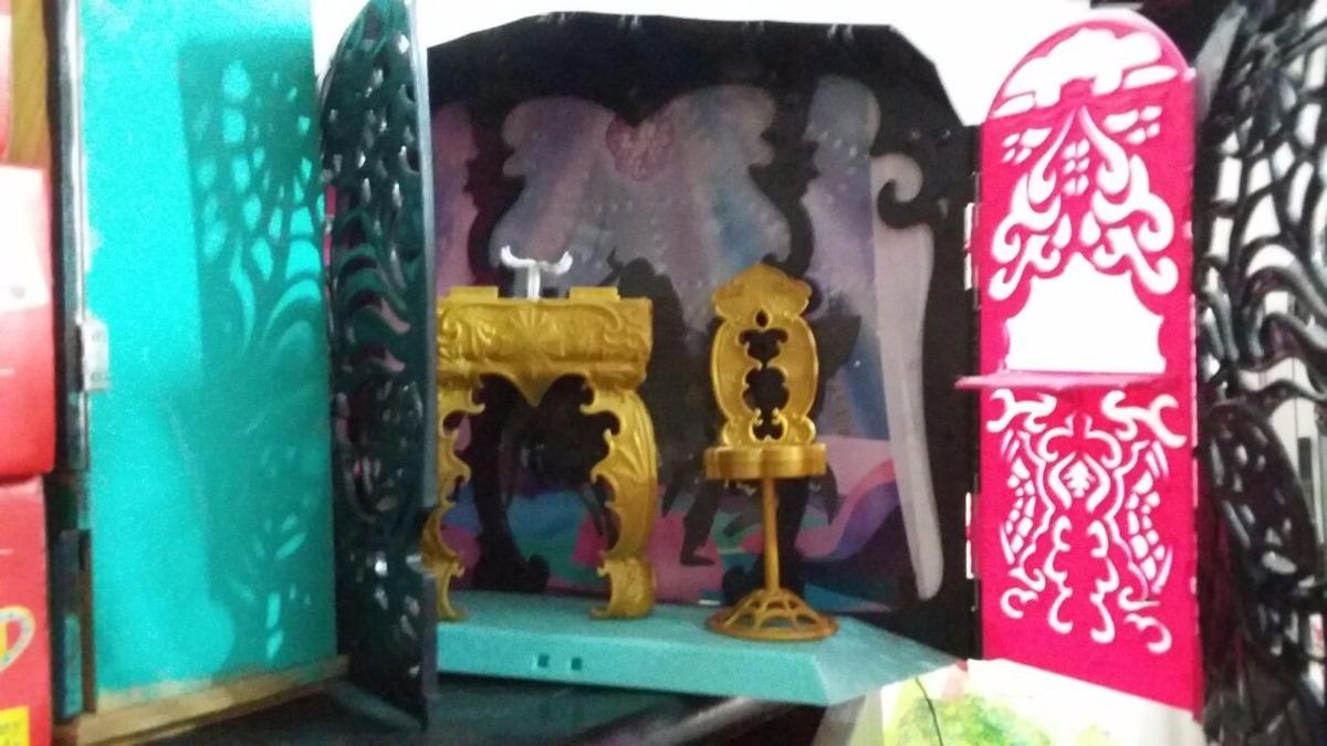 Casa casinha de brinquedo monster high port til 13 desejos r 119 00 em mercado livre - Casa de monster high ...