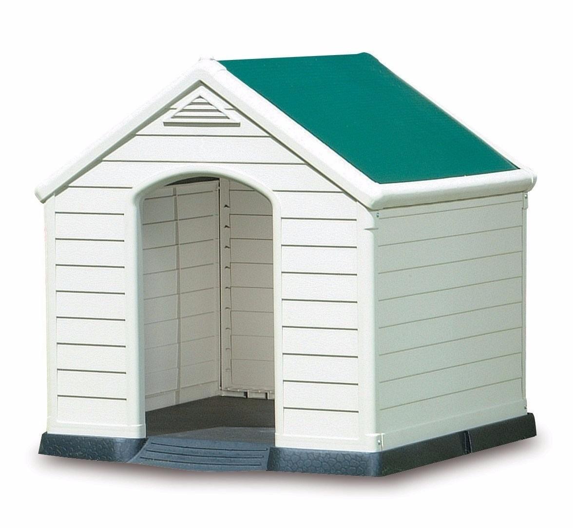 Casa casinha para cachorro pet de porte grande m dio p for Casetas resina baratas